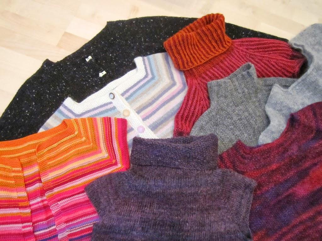 Sticka en tröja uppifrån, del 2 | Massor av Garn