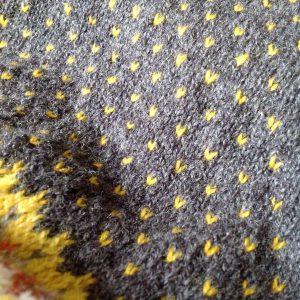 Mnga prickar blir det morgonstickning loppakal loppa mariasgarn sticklivet knittersofinstagram
