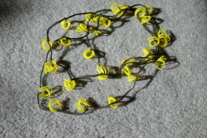 HålsömsgarnGummibandHalsband